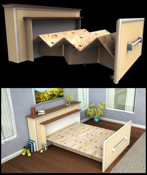 bed for small space 17 best ideas about tiny house furniture on pinterest