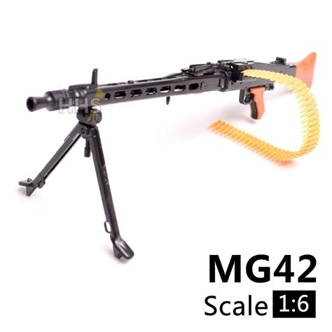 6 inch figure accessories 1 6 1 6 scale 12 inch figures accessories wwii mg42