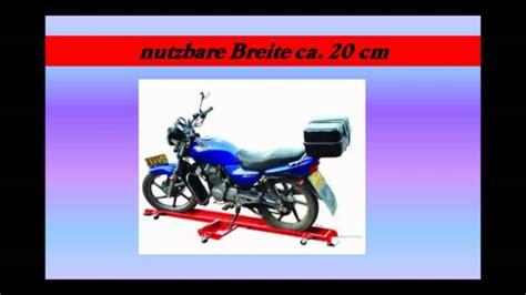 Motorrad Rangierhilfe Youtube by Motorrad Rangierhilfe Rollwagen Rolly 560 Kg T 220 V Gs Neu