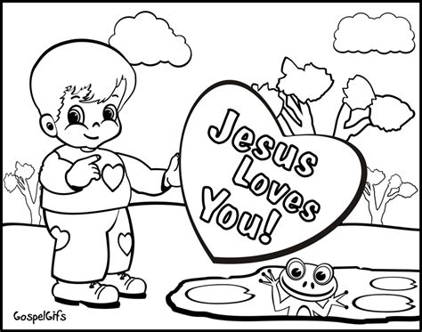 christian coloring page coloring home
