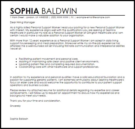 Personal Support Letter Sle How To Write An Evaluation Essay Sle Cover Letter Of It Support