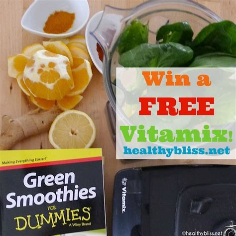 Vitamix Giveaway - free vitamix giveaway 449 00 value liver flush green smoothie recipe green
