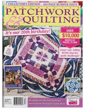Patchwork Quilting Magazine Australia - the world s catalog of ideas