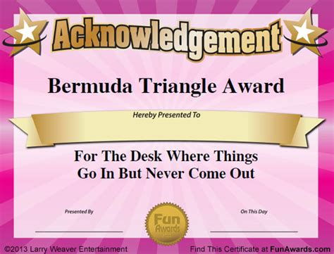superlative certificate template workplace superlatives just b cause