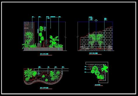 landscape layout cad landscape design cad files dwg files plans and