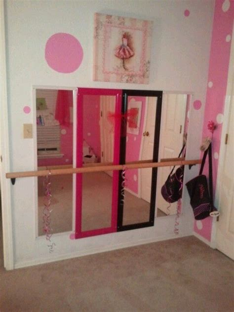 ballerina room decor ballerina bedroom mirrored with ballet bar bedroom ideas decor organization