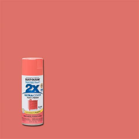 Rust Oleum Painter S Touch 2x 12 Oz Gloss Coral General
