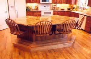 unique kitchen table ideas 64 unique kitchen island designs digsdigs