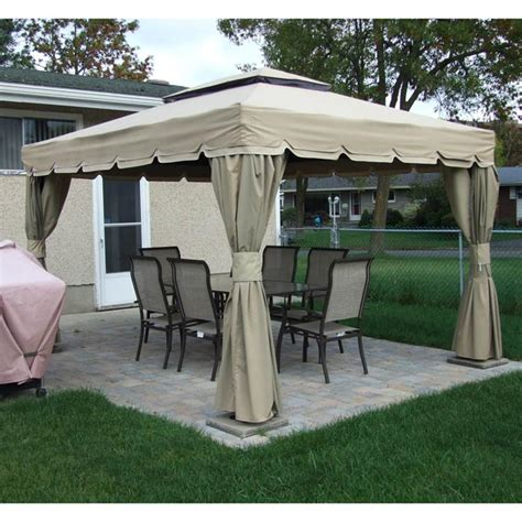 Delightful Gazebo Covers Replacement 10x12 Gazeboss Net Patio Gazebo Replacement Covers