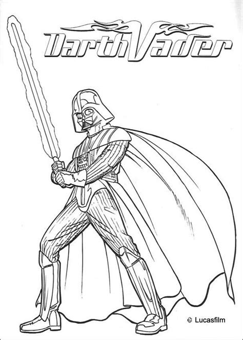 war armor of darth vader coloring pages hellokids com