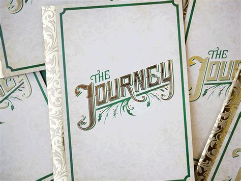 Journeys Gift Card - alliteration inspiration jelly journeying design work life