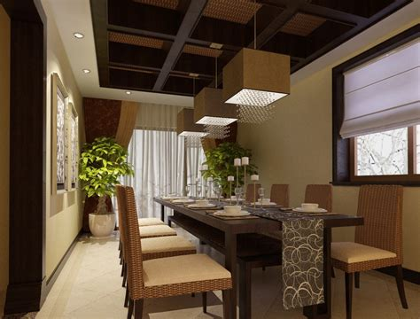 Modern thai dining room design 3d house free 3d house pictures and wallpaper