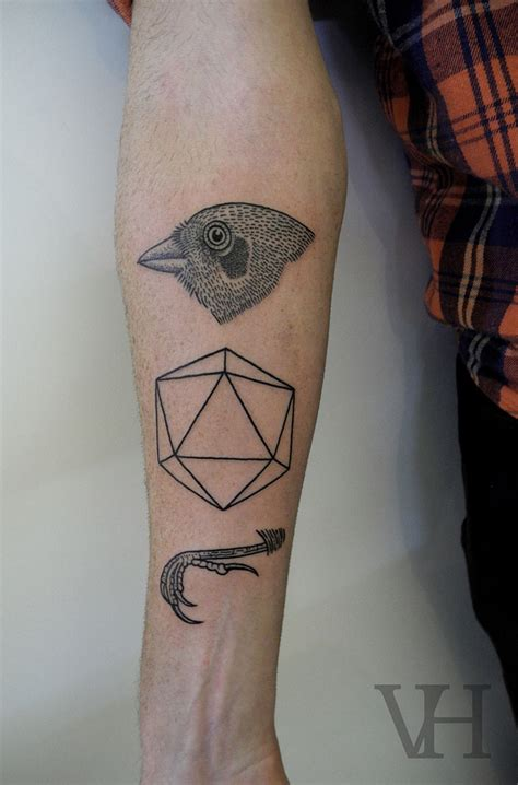 geometric shapes tattoo geometric tattoos damn cool pictures