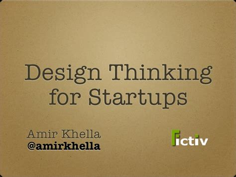 design thinking for startups design thinking for startups are you design driven
