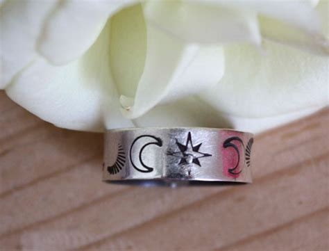 sextant jewelry sextant ring sterling rose compass jewelry