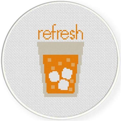 refresh pattern refresh cross stitch pattern daily cross stitch