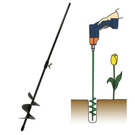 flower bulbs bulb auger