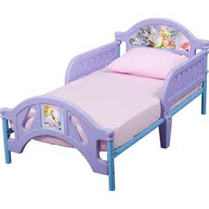Baby Bed Frame Plastic And Metal Frame Disney Tinker Bell Fairies Toddler Bed Ebay