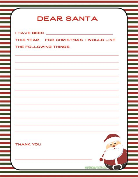 easy holiday tradition write letter santa