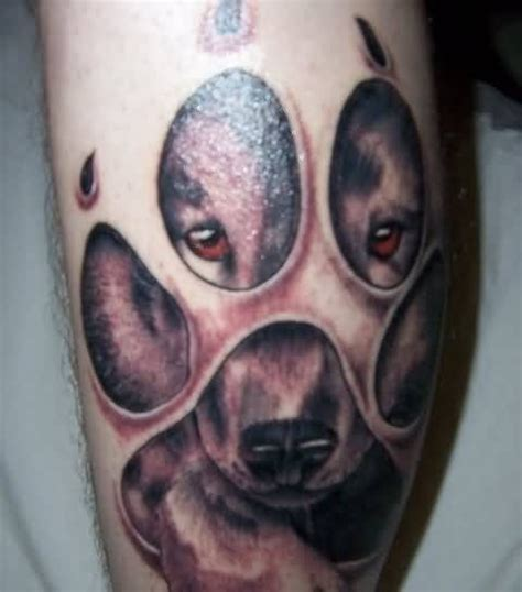 dangerous tattoo designs paw ideas and paw designs page 2