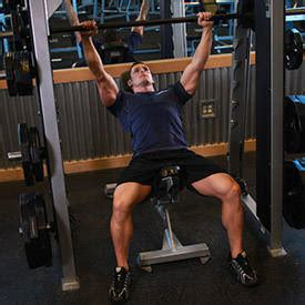using smith machine for bench press incline dumbbell press exercise guide and video