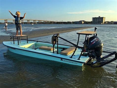 saltwater fishing boat accessories a lesson in skiff quality and service ali s skimmer skiff