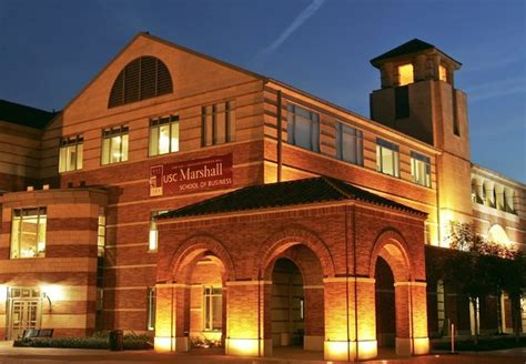 Of Southern California Marshall School Of Business Mba by Usc Na Calif 243 Rnia Oferece Bolsas Para Mba 201 Poca