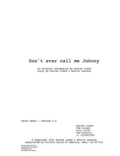 script title page template print archives dramatify