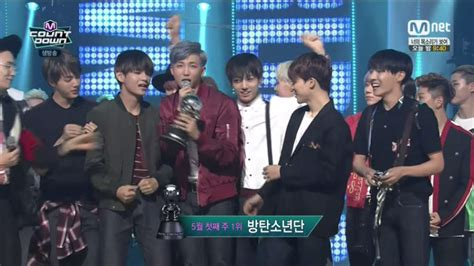 bts m countdown bts takes home first m countdown win with quot i need u quot soompi