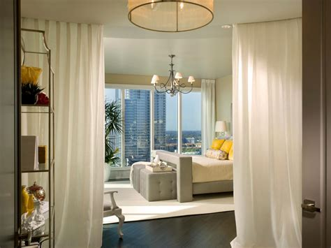 curtain ideas for bedroom 8 window treatment ideas for your bedroom bedrooms bedroom decorating ideas hgtv
