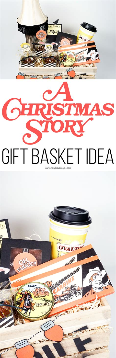 a christmas story gift basket idea printable crush