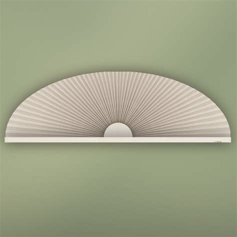 Fan Shades For Arched Windows Designs Eyebrow Arch Window Shade Contemporary Cellular Shades Houston By Blinds