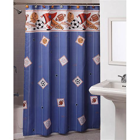 sports curtains sports shower curtain furniture ideas deltaangelgroup