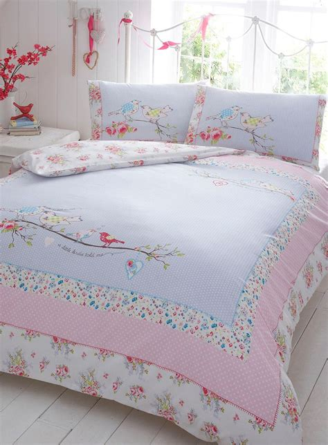 vintage comforter sets pink a little birdie told me bedding set vintage