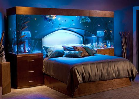 Aquarium Headboard by If It S Hip It S Here Archives No Room For An Aquarium