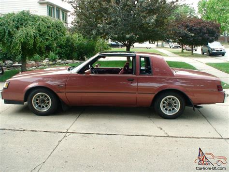 Car Types Beginning With T by 1986 Buick Regal T Type Coupe 2 Door 3 8l