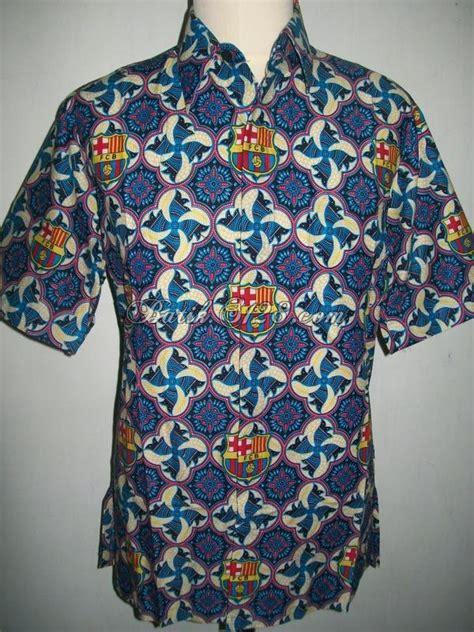 jual batik bola barca barcelona motif terbaru bb101 toko batik 2018