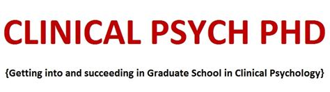 Phd Mba Joint Programs Counseling by Clinical Psychology Phd Getting Into Graduate School In