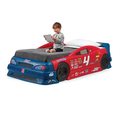 step2 car bed stock car convertible bed kids furniture by step2