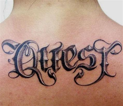 tattoo ideal quot fonts script quot 3d tattoos