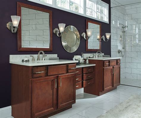 aristokraft cabinets home depot aristokraft sinclair umber bathroom search