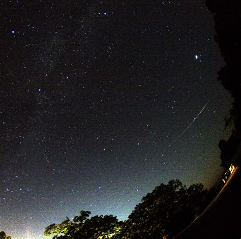 spaceweather com 2009 perseid meteor shower photo gallery