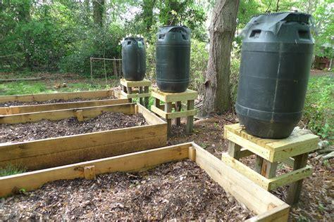Garden Irrigation Ideas Better Than Never How To Make A Barrel