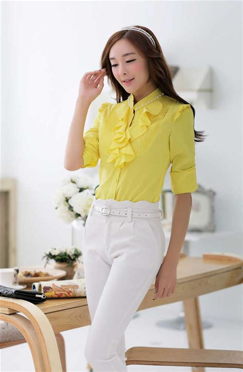 Sale Baju Cewek Blouse Kerja Kuliah Blouse Korea Import Bad92 baju murah newhairstylesformen2014