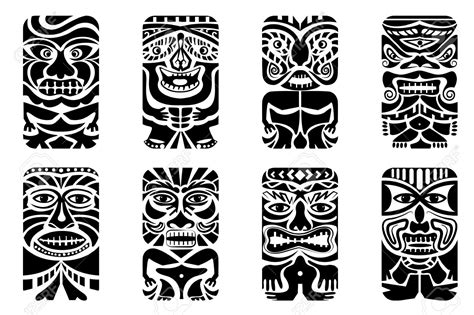 tiki tribal tattoo 14 tiki designs and ideas