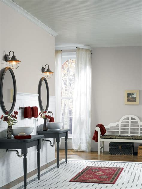 clean  crisp sherwin williams gray color   month