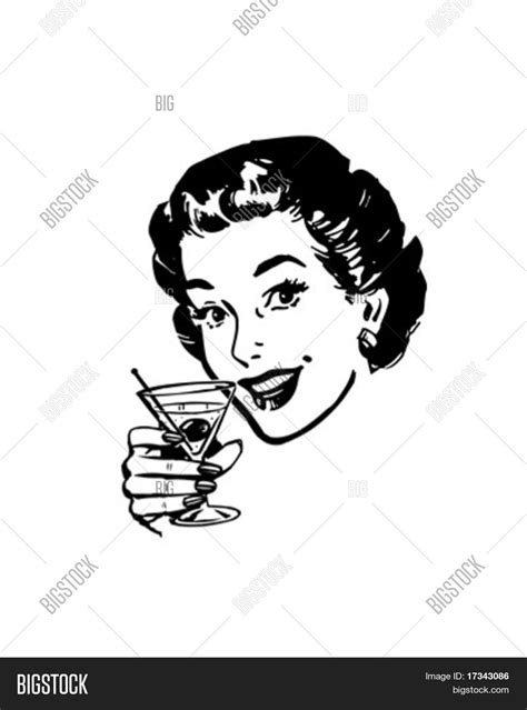 martini toast martini toast retro clip art stock vector stock photos