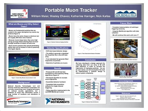 design poster project electrical engineering nmt