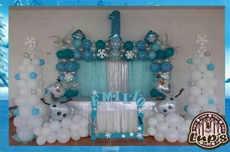 del arco hogar decoracion decoracion con globo frozen organizaci 243 n del hogar