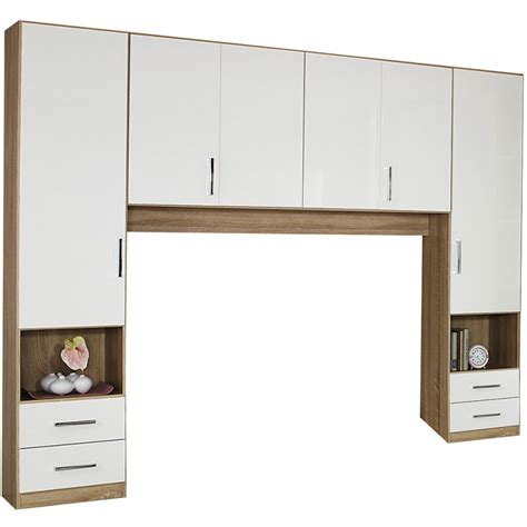 Bed Wardrobe Unit by Overbed Unit And Overbed Storage Wardrobes